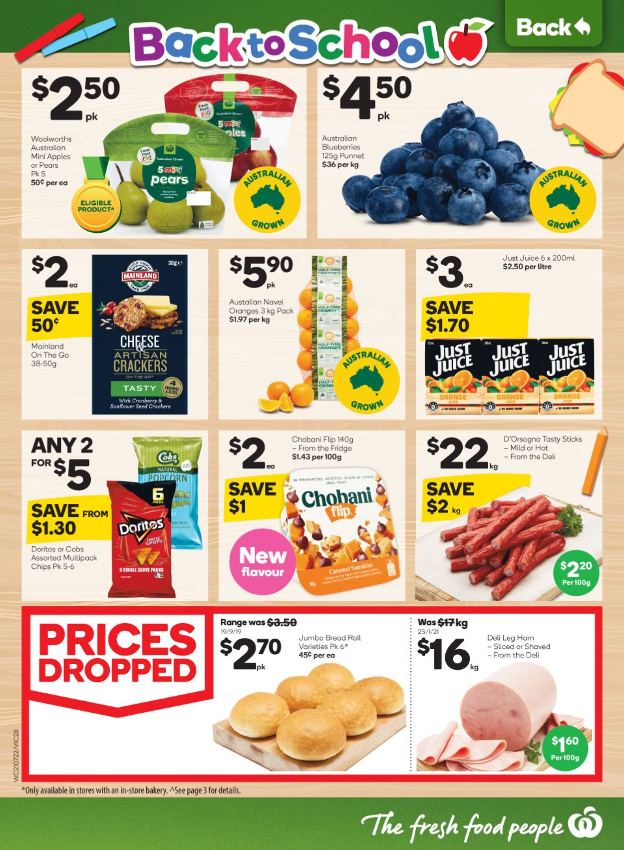 Woolworths Catalogue - 21/07-27/07/2021 (Page 28)