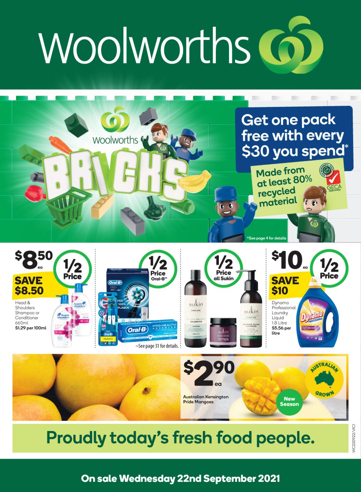 Woolworths Catalogue - 22/09-28/09/2021