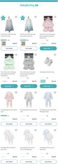 Baby Bunting catalogue