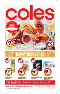 Coles - New Year 2021
