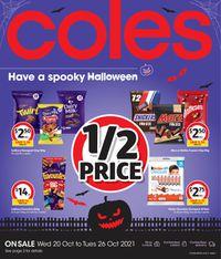 Coles Halloween 2021