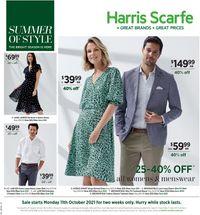 Harris Scarfe catalogue