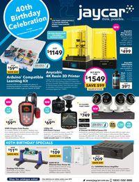 Jaycar Electronics catalogue