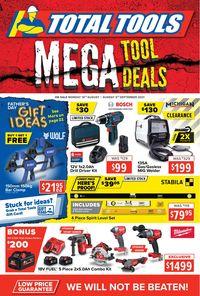 Total Tools catalogue