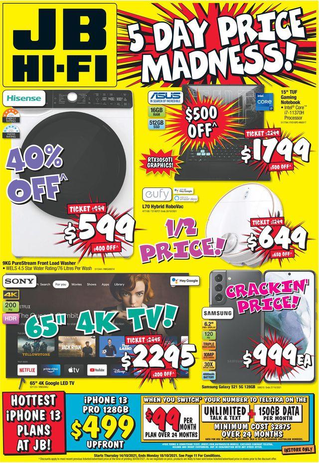 JB Hi-Fi catalogue