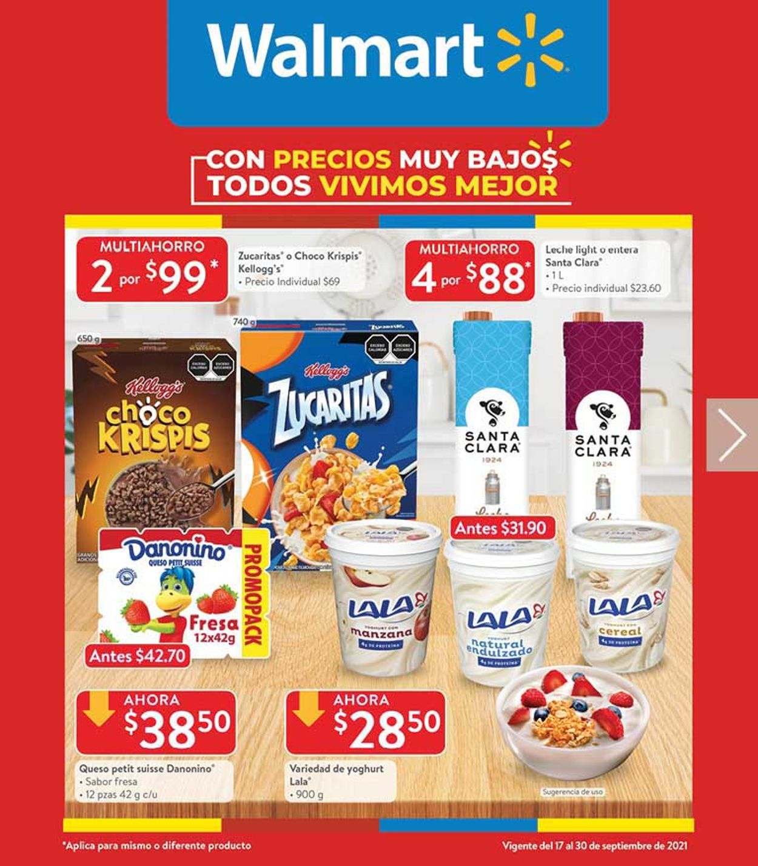 Walmart Folleto - 17.09-30.09.2021